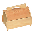 Chinese supplier unfinished wooden eyelash packaging box