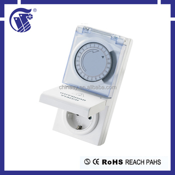 Multi-countries styles 220-240V AC outdoor mechanical electrical timer