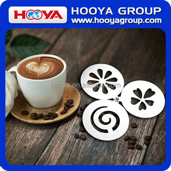 Stainless Steel Coffee Stencil/Cake Decorating Stencils,/Cookie and Coffee Stencils