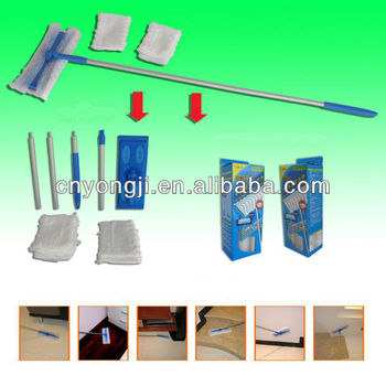 Sweeper&Cloths W/ Refills Set