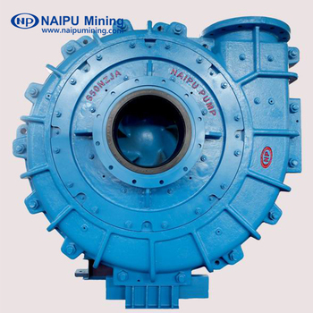Electric motor slurry pump for mineral separation system