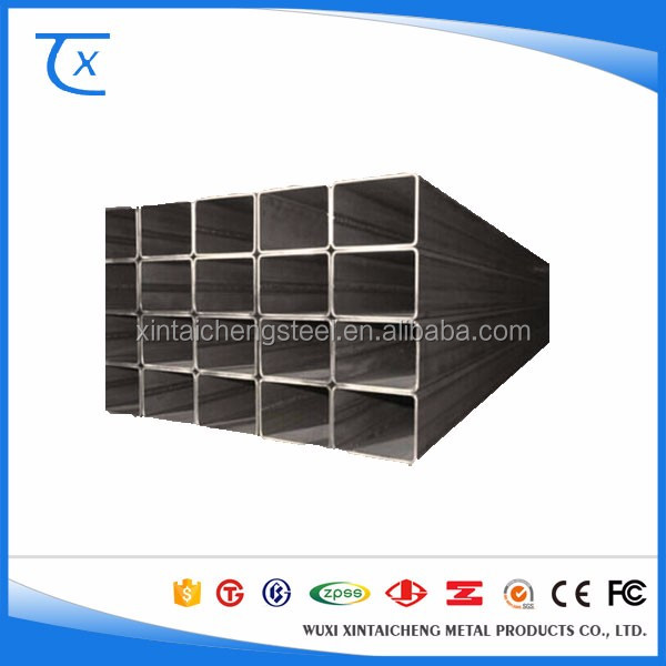 Hot Rolled Carbon Galvanized Drill Steel Square Pipe Q345A Material