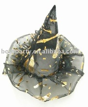 silk cloth with embroidery spider baby top magic witch hat