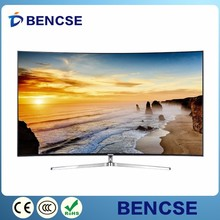 Digital signal TV 1080p ultra hd thin 55inch tv curved 4K design LED TV