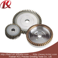 China supplier Segmented Diamond Wheel used for rough grinding glass edge