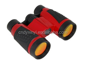 Hot sell nice cheap KIds plastic promotional toy binoculars