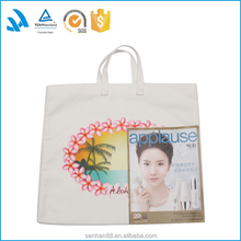 China wholesale canvas shoulder bag, cotton tote bag, sea beach tote bags