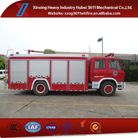 China Manufacturer Hot Sale Diesel Emergency Rescue 6t Fire Fighting Truck Mini Fire Truck Price
