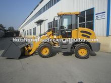 ZL12 mini wheel loader snow plow with joystick,ce