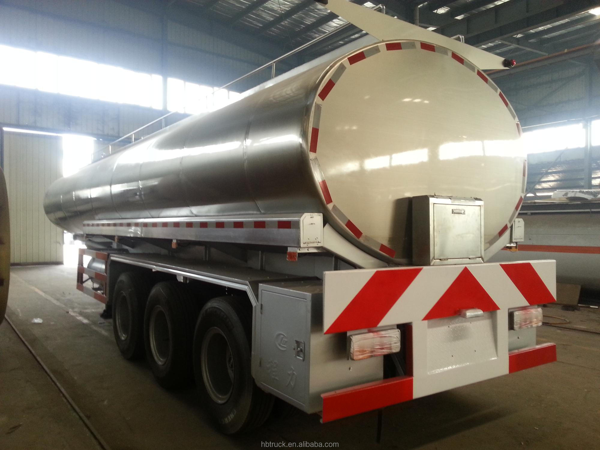 40000L food grade stainless milk carrying tanker truck