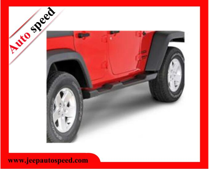 Jeep Jk Wrangler Factory Style Side Steps ( 4-Dr ) Material: Durable Black Plastic With Steel Substructures