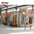 automatic powder coating painting production assembly line