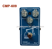 Hot sale Guitar effect Vintage compressor CMP-609