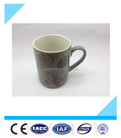 wholesale high quality heart shape with handle ceramic couple mug