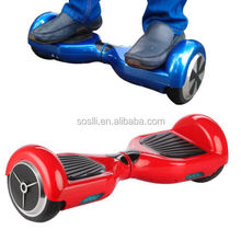 2018 most fashionable 2 wheel smart balance board two wheels self balancing scooter