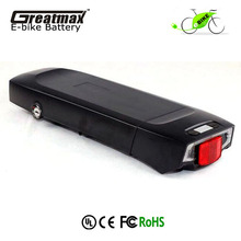 48V 15Ah E-Bike Rechargeable Li-Ion Battery Pack Lithium Battery For Electric Bike