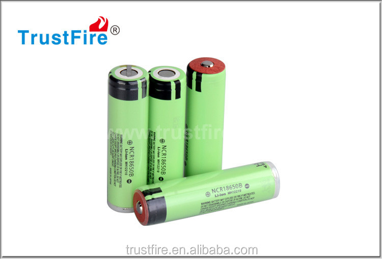 High quality Original NCR18650B 3400MAH 3.7v li ion battery