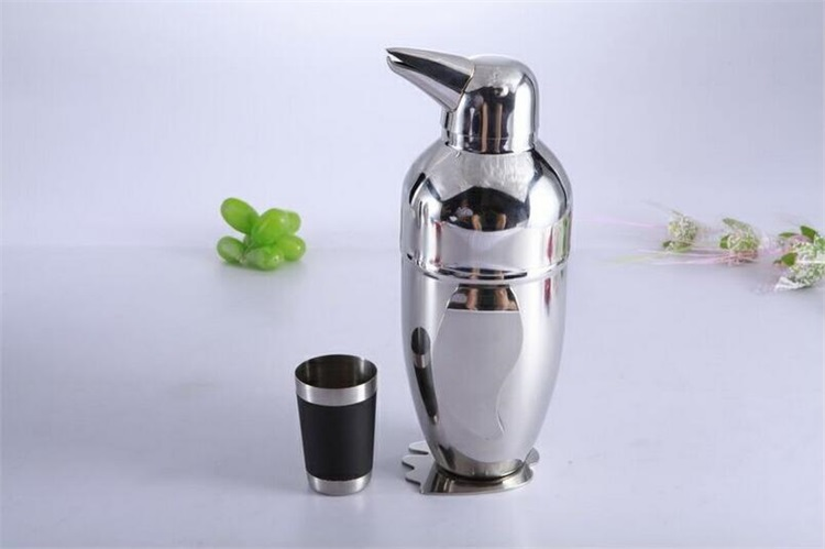 Stainless steel cocktail shaker customized,Metal wine tools shaker set