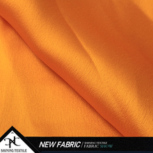 Dress fabric supplier High quality Custom satin chiffon fabric