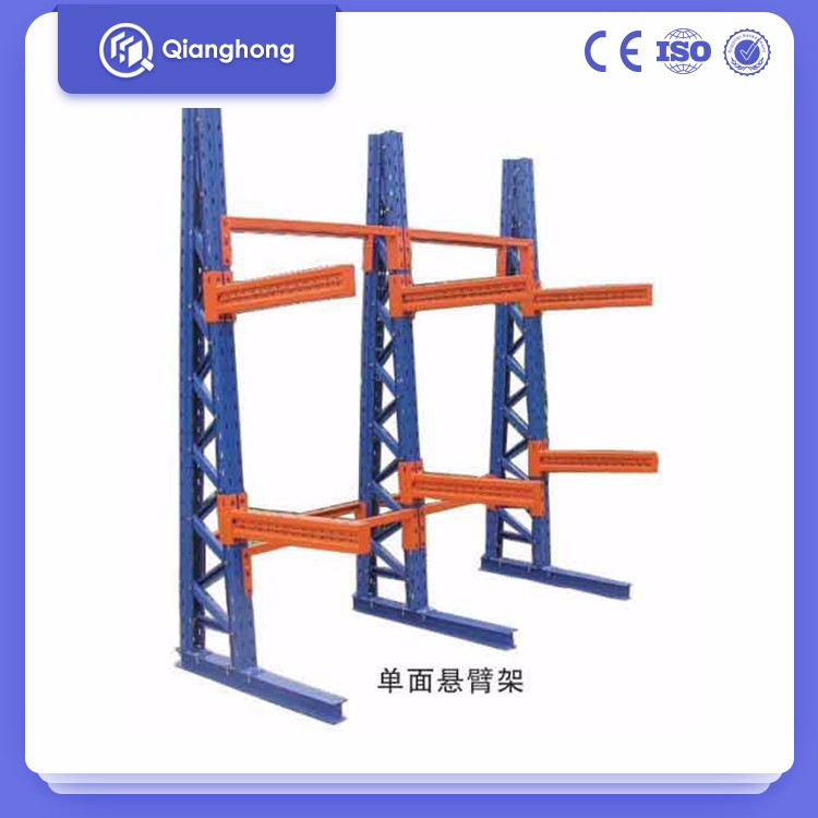Heavy duty steel Steel Pipe Storage Double Side cantilever structural rack supplier