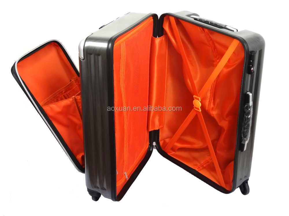 easy-access front zippered pocket luggage front pocket luggage