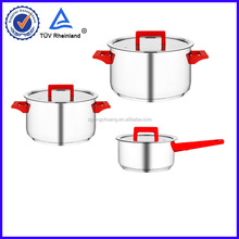 304 professional cast 5pcs stainless steel cookware sets
