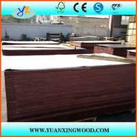 construction building materials plastic coated plywood