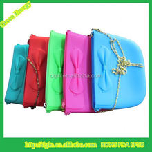 China Factory Wholesale Ladies Fashion Cosmetic Silicone Bag