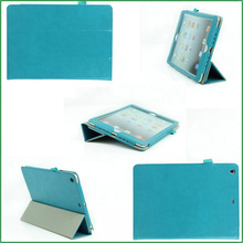 Elegant Genuine Smart Auto Sleep Leather Cases For iPad Air 2 Cover case