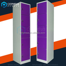 Bright Color 5 Door Steel Cabinet Beach Locker