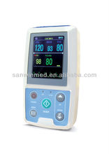 latest Portable 24-hour abpm blood pressure monitor medical equipment names PM50 With Software