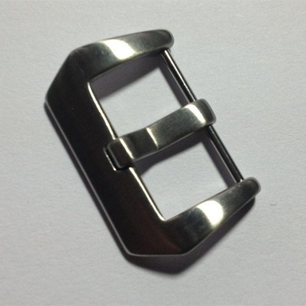 High quality solid polished watch buckles wholesale