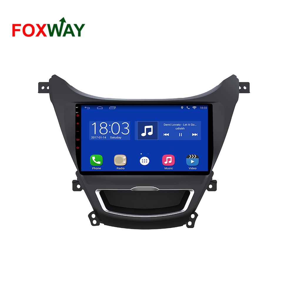 android car radio for hyundai elantra 3G 4 G sim card optional