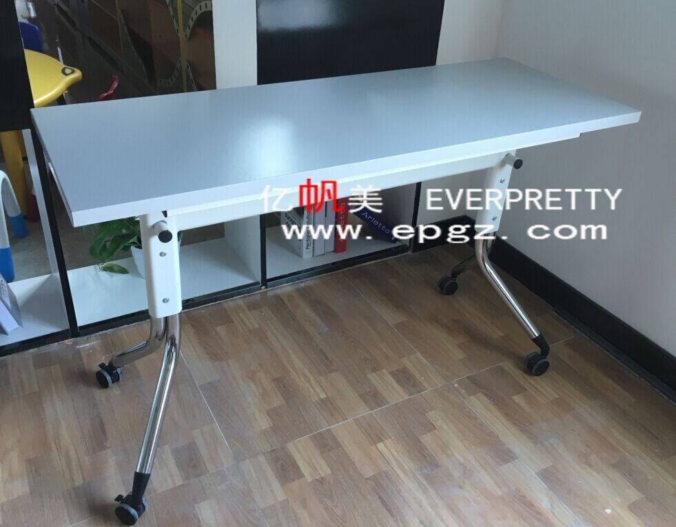 New item folding teacher table reading table with wheels for Reading table design