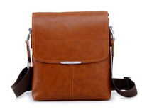 long strap should bags PU leather messenger bag men