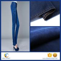 Hot sale 9oz cotton poly spandex denim fabric in Changzhou