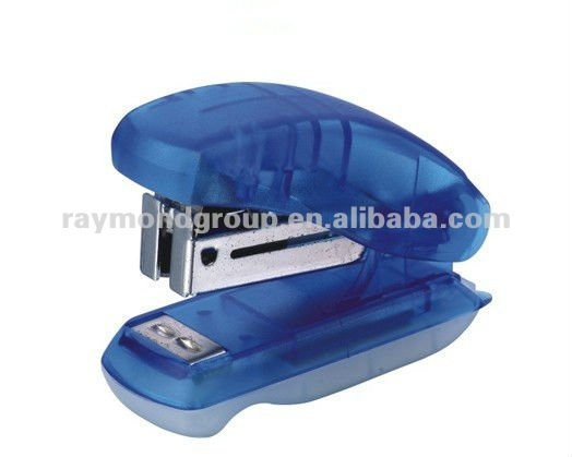 shape mini promotion staple less stapler