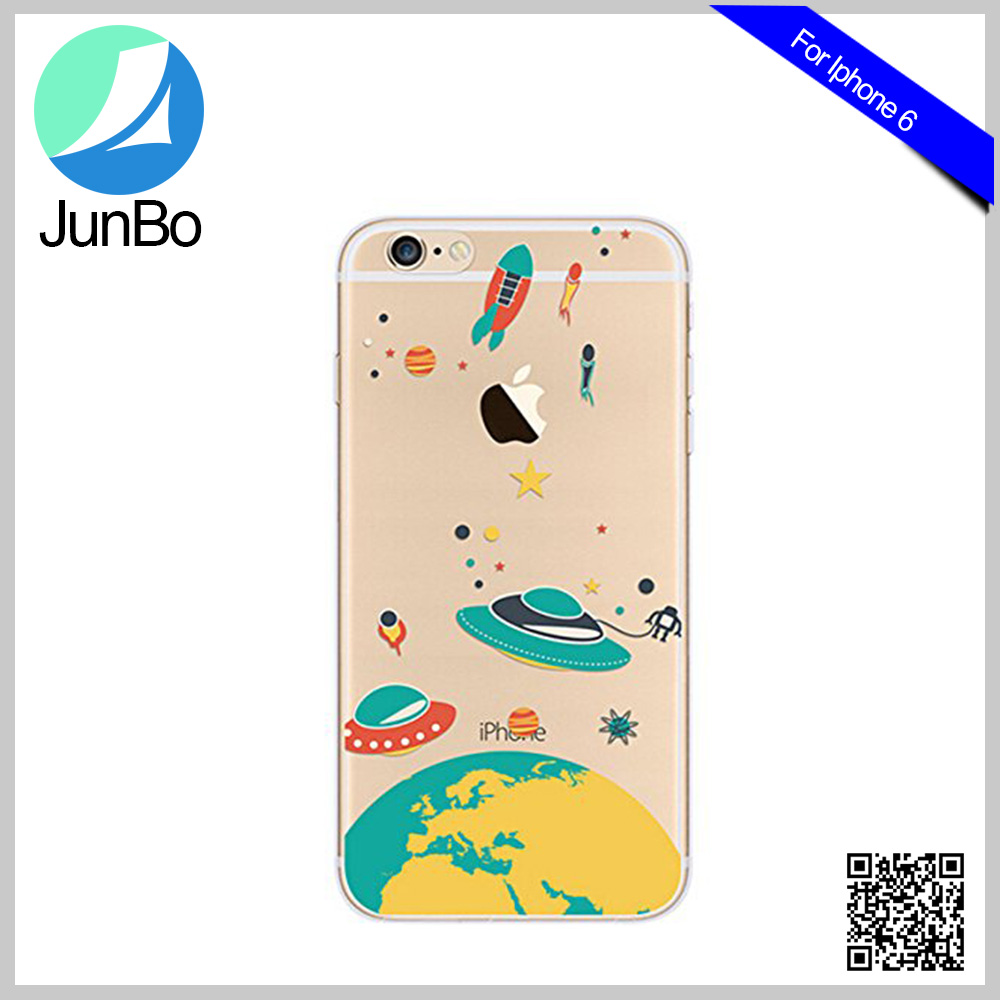 for Cute girl's lovely design printed TPU soft shockproof flip back cover cases for iphone <strong>apple</strong> 6/6s