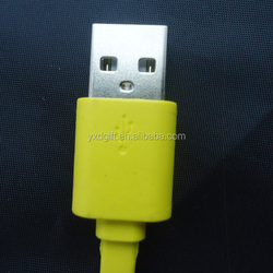Android Phone Charger Cable For Samsung Flat Colorful Micro USB Cable