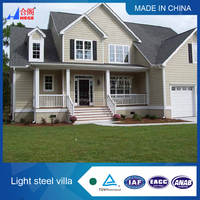 china prefabricated homes/prefab house/prefabricated villa