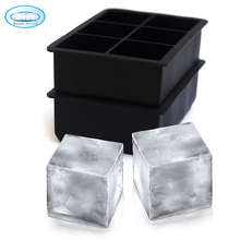 wholesale square shaped ice cube maker tray with silicon cover