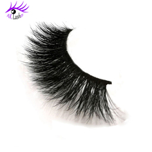 Private Label Handmade 100% 3D Real Mink Fur Lashes For Fashion Woman