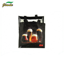 Factory Direct Sell Reinforced Handle Grocery Waterproof Ball Foldable Shopping Bag