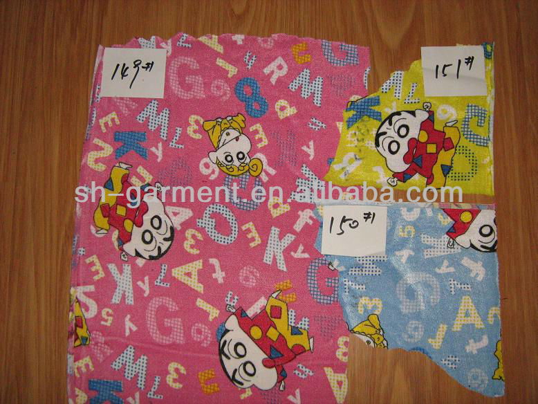 100% polyester printed polar fleece K888