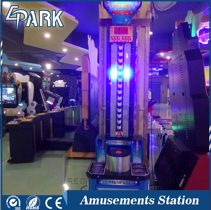 Great selling hammer game indoor arcade game machine for game center