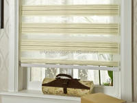 Manufacturer office roller shade sunscreen drapes zebra blind fabric