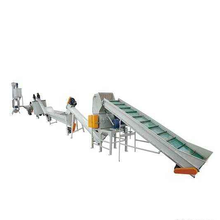 Polypropylene polyethylene film foam waste plastic recycling machines and plastic recycling extruder