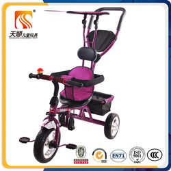 Ride On Toy Style and HANDLE BY PARENTS Power baby tricycle with handle