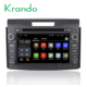 Krando Android 7.1 car multimedia navigation system for honda for CRV 2012+ car pc gps stereo with mirror link function KD-HC733