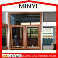 soundproof PVC awning window plastic window with cheap price
